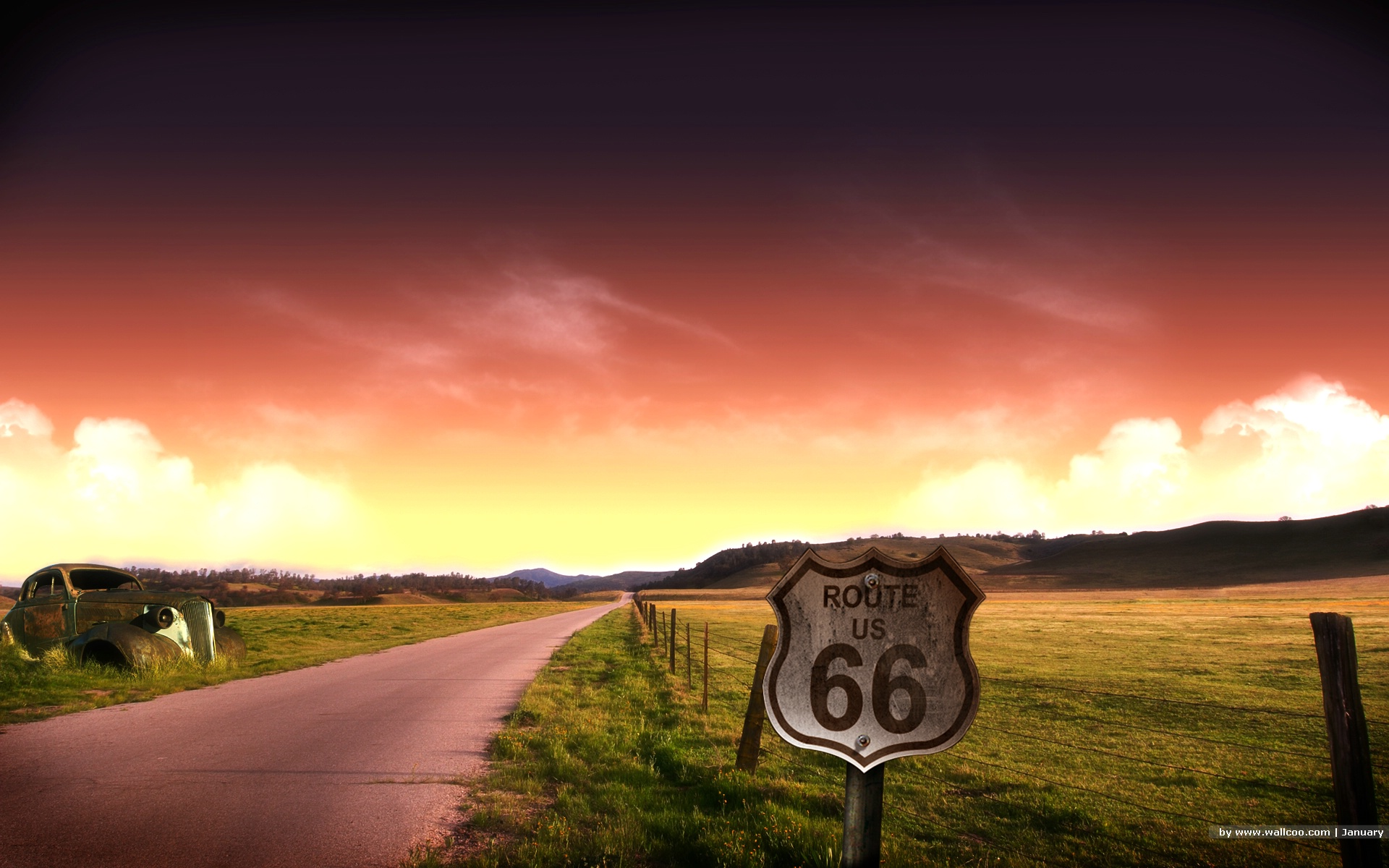 Enjoying Old Route  Or Whats Left Of It John Guy LaPlante - Map us highway route 66