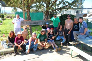 Club members turned out for a volunteer landscape renovation project at the Zoo to You Park in nearby Paso Robles. Making friends and developing community are essential parts of the club's curriculum.