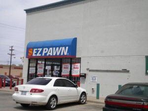 You'll understand in a minute why I felt I had to stop in.  Many pawn shops out here. None close to Deep River!